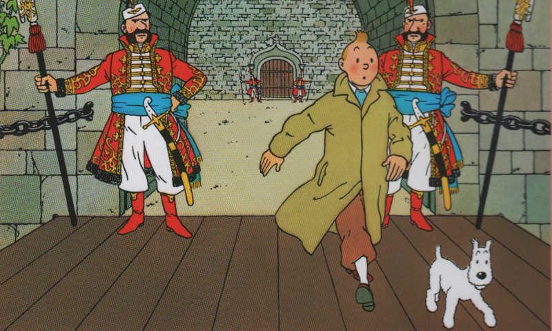 Tintin in Sildavia per salvare lo scettro di Ottokar