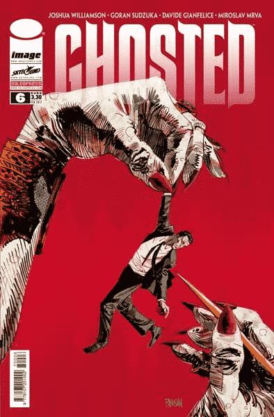 Disponibile Ghosted #6, la serie di Joshua Williamson