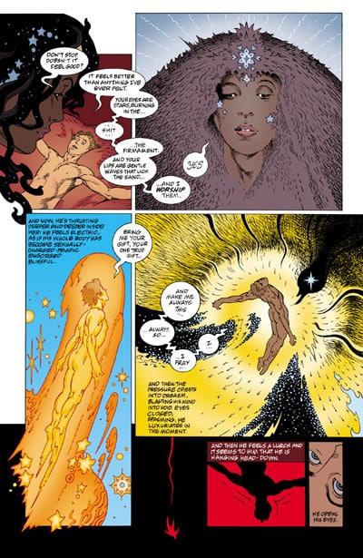 L'arrivo delle Divinità americane: dal romanzo al fumetto
