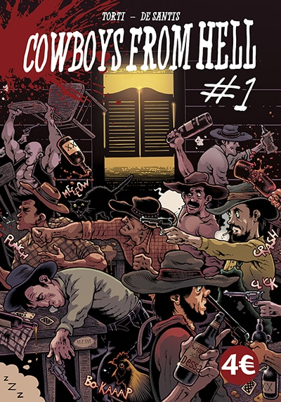 Cowboys From Hell #1 (Torti, De Santis)_BreVisioni