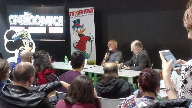 Giorgio Cavazzano: 50 anni e non sentirli