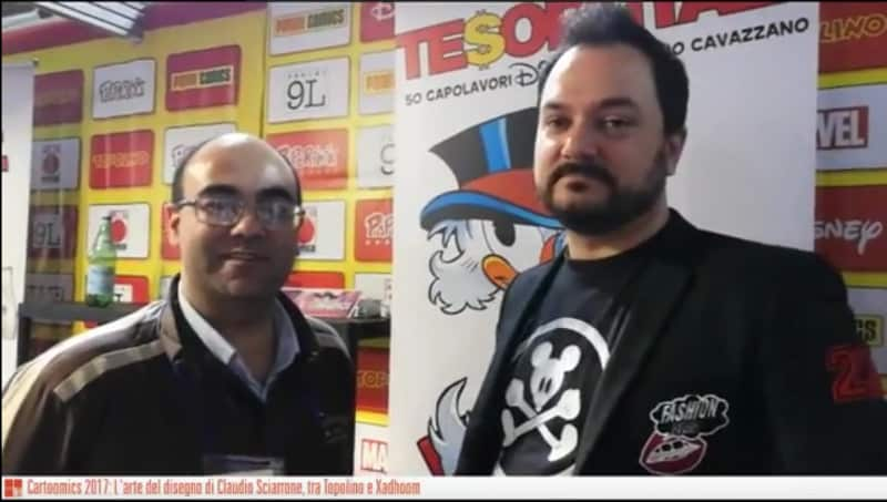 Cartoomics 2017: intervista a Claudio Sciarrone