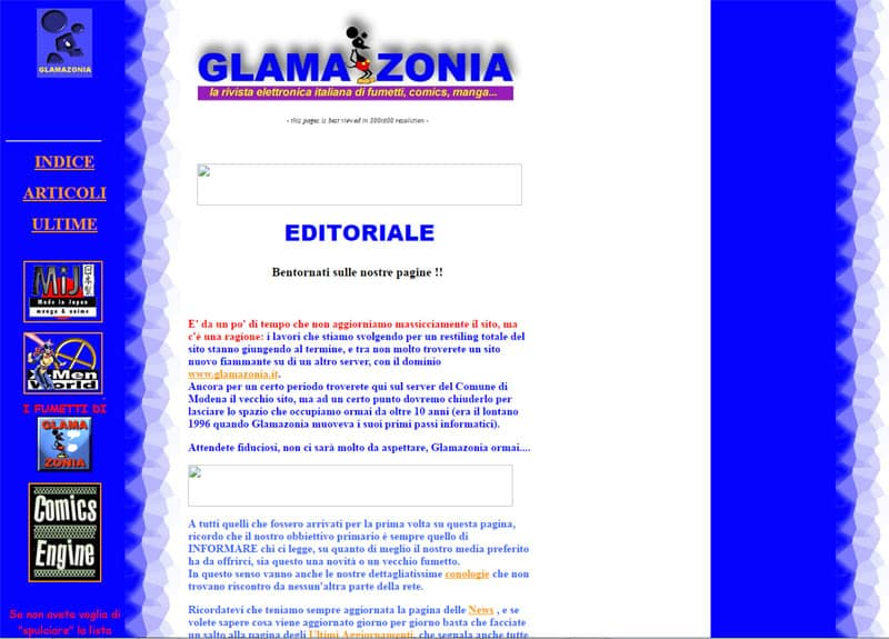 Glamazonia_schermata_Approfondimenti