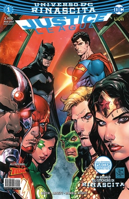 Justice League #1 (AA.VV.)