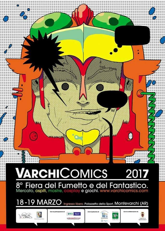 Programma Varchi Comics 2017