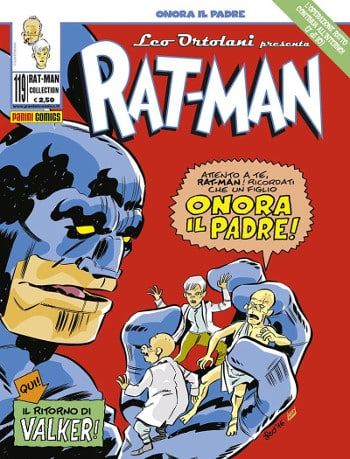 Rat-Man #119 – Onora il padre (Ortolani)