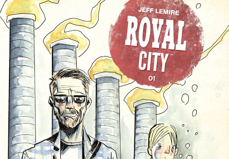 Royal City di Jeff Lemire: raccontare attraverso i volti