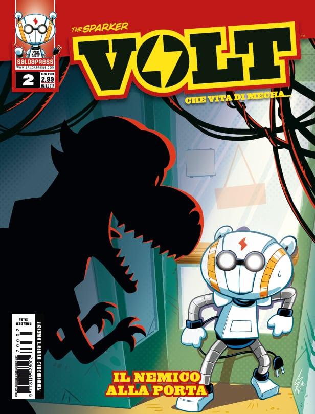 E' disponibile il secondo numero di VOLT: che vita di mecha