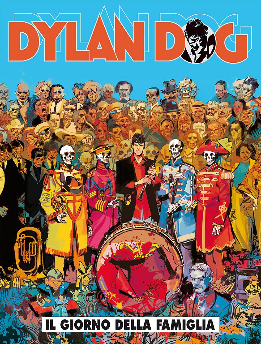 Dylan Dog #366: Il giorno della famiglia (Secchi, Piccioni, Di Vincenzo)