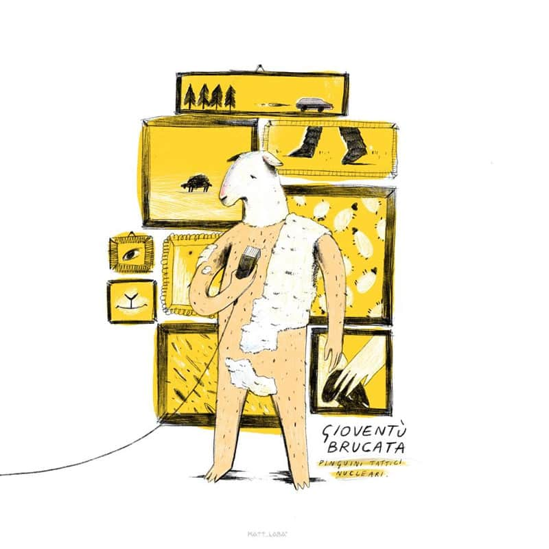 Labadessa per Pinguini Tattici Nucleari