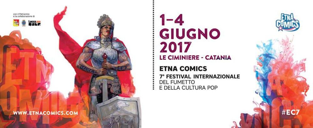 Alex Maleev firma il manifesto di Etna Comics 2017