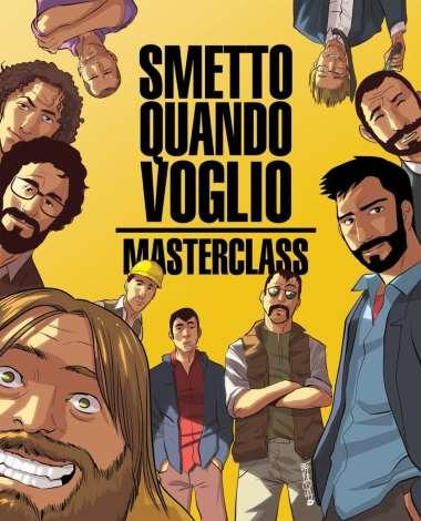 Smetto quando voglio Masterclass - il fumetto (Recchioni, Bevilacqua)