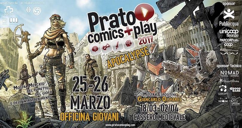 Prato Comics + Play ritorna con l'edizione 2017