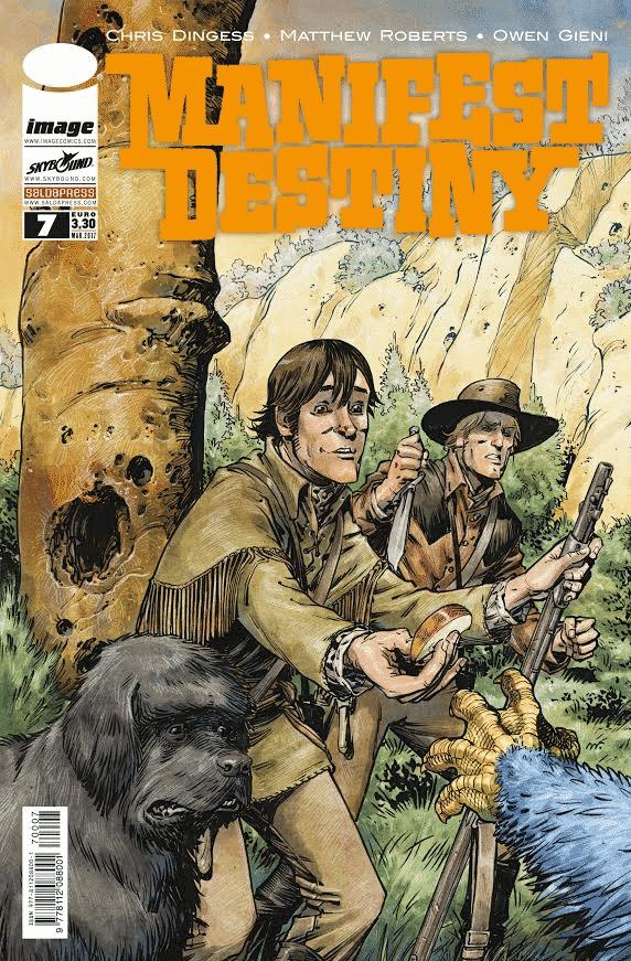 Manifest Destiny: uscito il settimo numero dell'edizione bimestrale