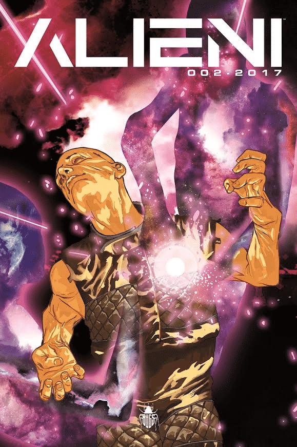 Alieni vol.2 della Bugs Comics al Romics 2017