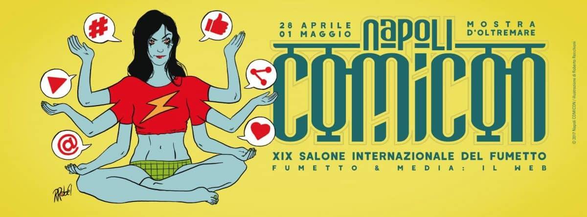 Gli appuntamenti della quarta giornata del Napoli Comicon 2017