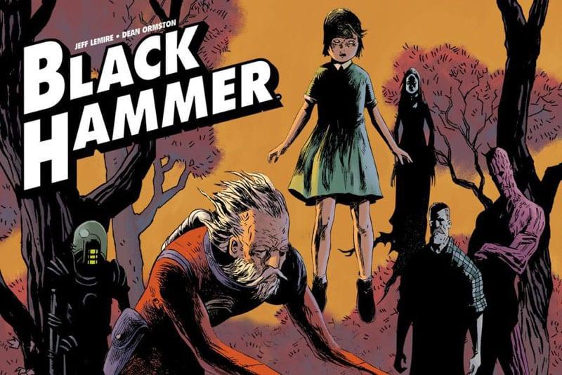 Black Hammer: l'amore di Jeff Lemire per i supereroi