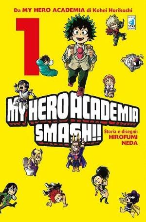 "Per Star Comics esce ""My Hero Academia Smash!!"""