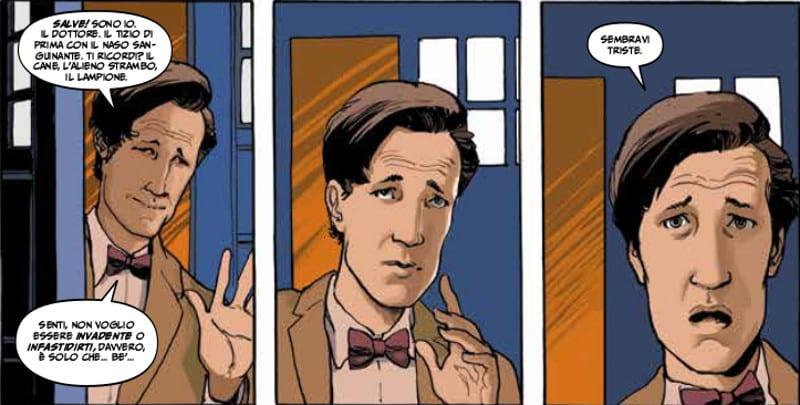 Doctor Who: Matt Smith tra le vignette