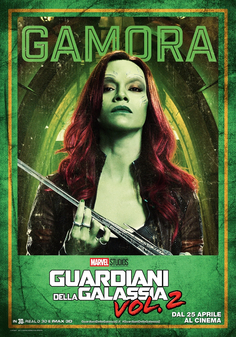 Guardiani della Galassia Vol. 2 - I character poster in italiano_Notizie