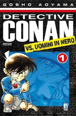 Star Comics presenta Detective Conan vs Uomini in Nero