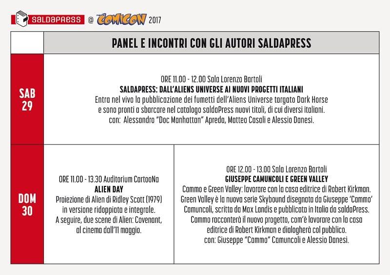 SaldaPress al Napoli Comicon