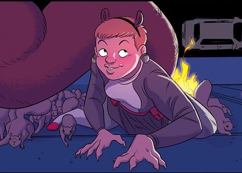 Squirrel Girl ribalta l'universo supereroistico Marvel