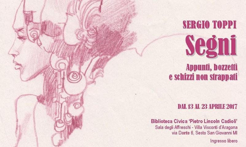 Segni: una mostra su Sergio Toppi a Sesto San Giovanni
