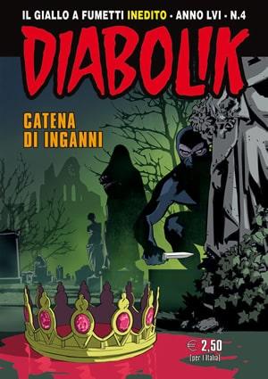 Diabolik LVI #4 Catena di inganni (Faraci, Barison)