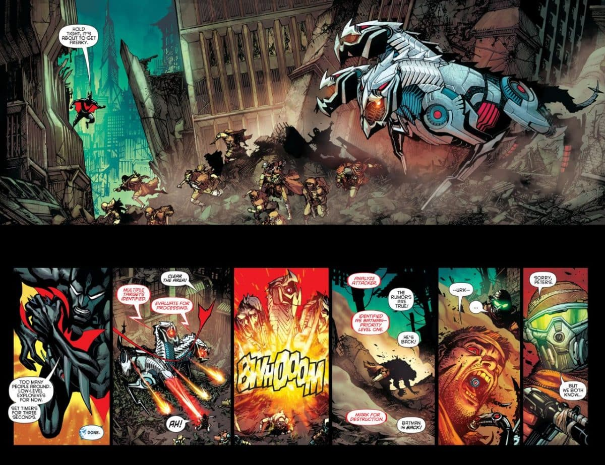 Batman Beyond, il cupo futuro dell'universo DC