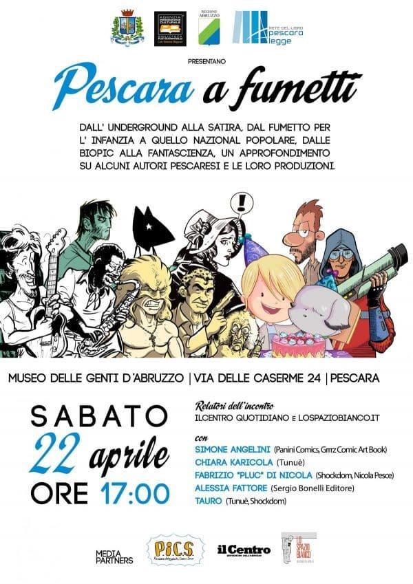 Pescara a fumetti: tavola rotonda sul fumetto pescarese