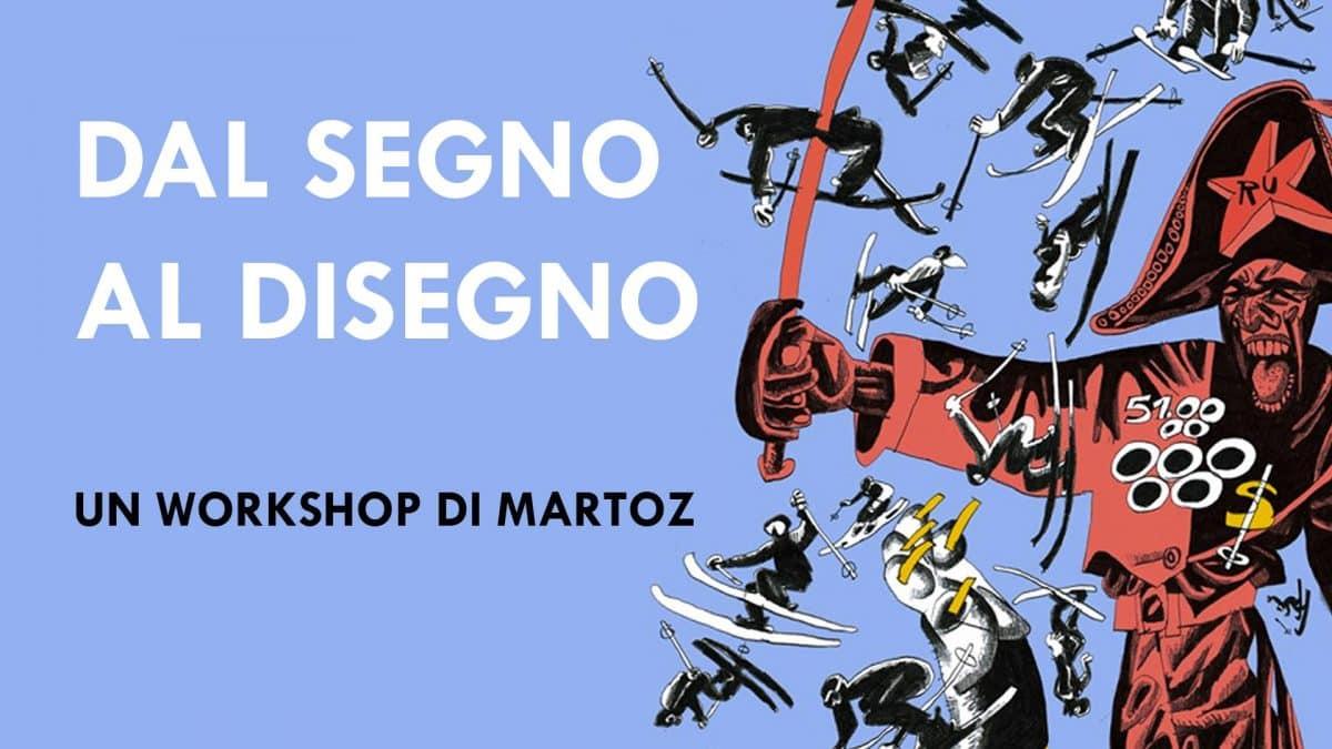 Studio Pilar: workshop di disegno dal vero con Martoz