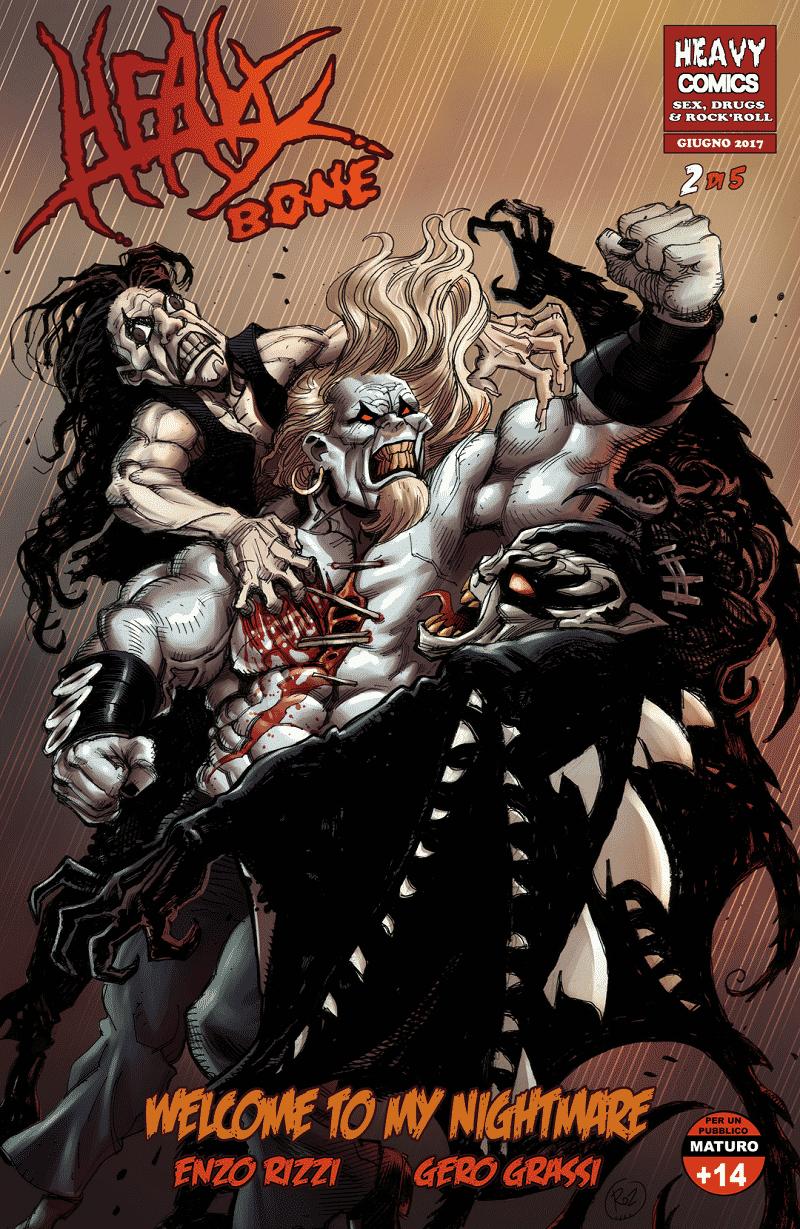 Heavy Bone #2: Welcome to my Nightmare in uscita a giugno
