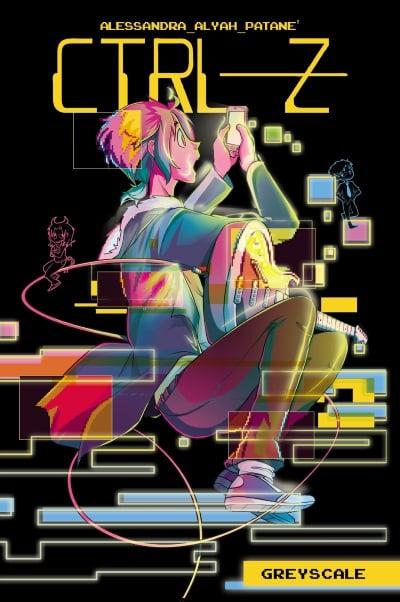 "Panini Comics presenta ""CTRL-Z"", di Alessandra Patanè"