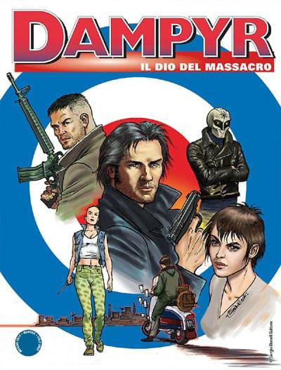 Dampyr #206 – Il dio del massacro (Giusfredi, Statella, Piazzalunga)