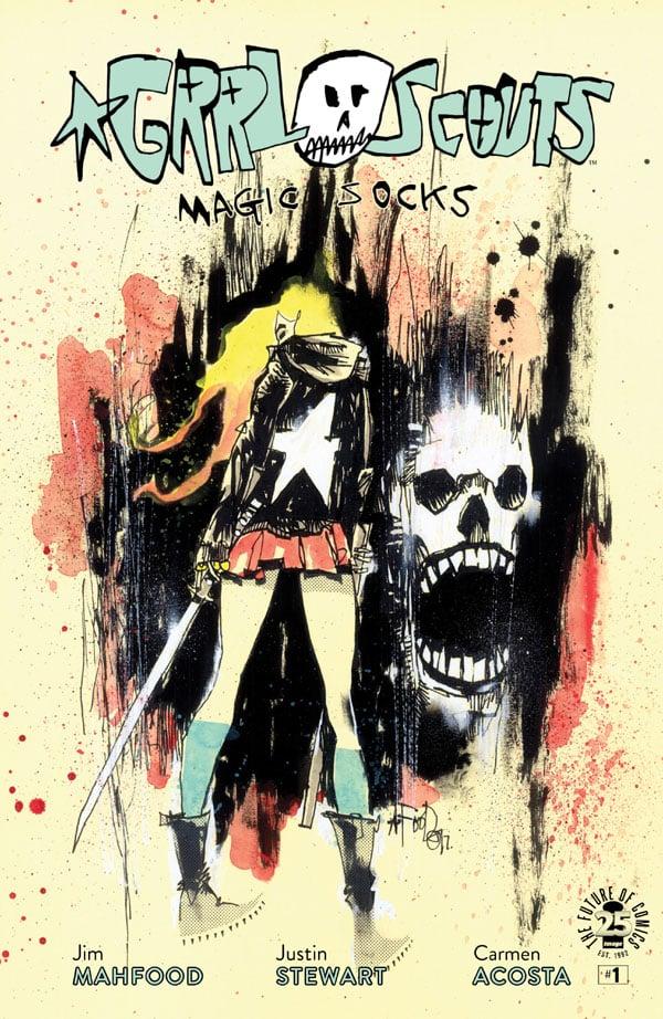 Grrl Scouts - Magic Socks_1_cover
