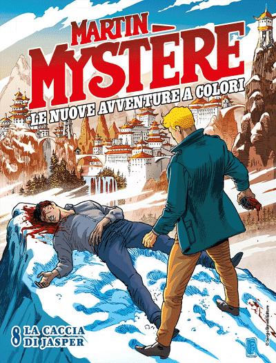 Martin Mystère scala l'Himalaya ne Le nuovo avventure a colori #8