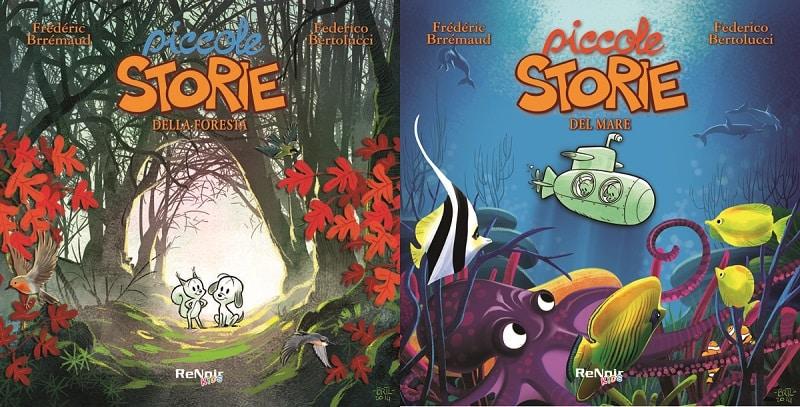 "Le ""Piccole storie"" di Brrémaud e Bertolucci per Renoir Kids"