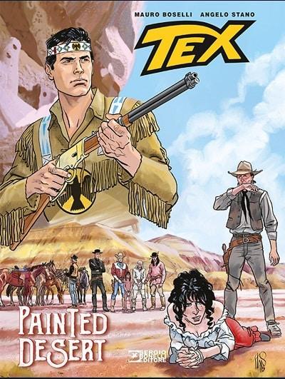 In libreria Tex Painted Desert e Nick Raider Nuovi casi per la squadra omicidi
