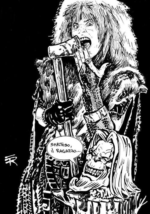 Enzo Rizzi: un Diavolo per fumetto!