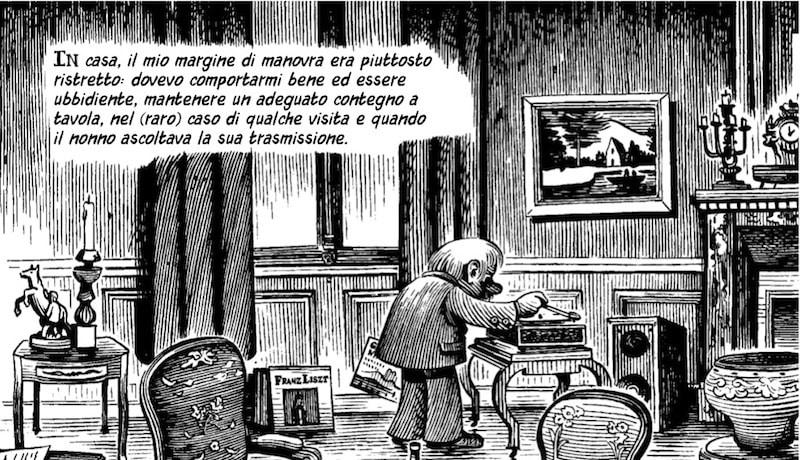 La favorita di Lehmann, un fumetto delicato e difficile