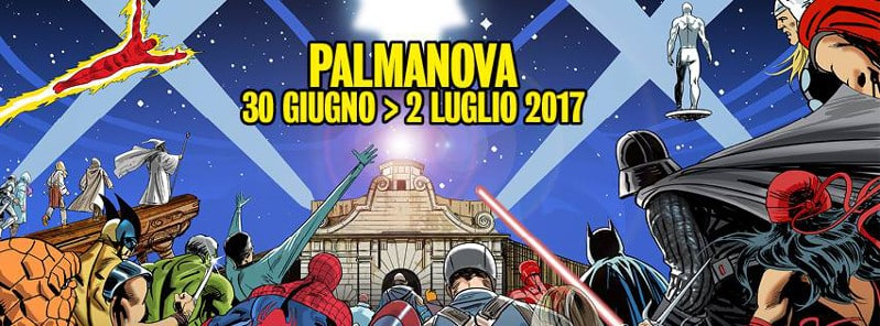 "Palmanova ""The Games Fortress"": news dell'area fumetto"