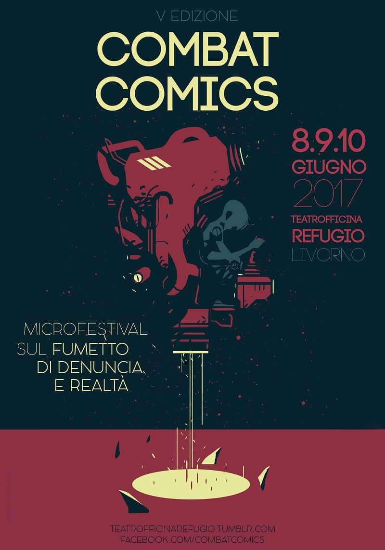 Il Microfestival Combat Comics arriva alla quinta edizione: il programma