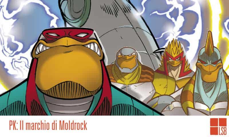 Il marchio di Moldrock: Paperinik, poco super e molto papero