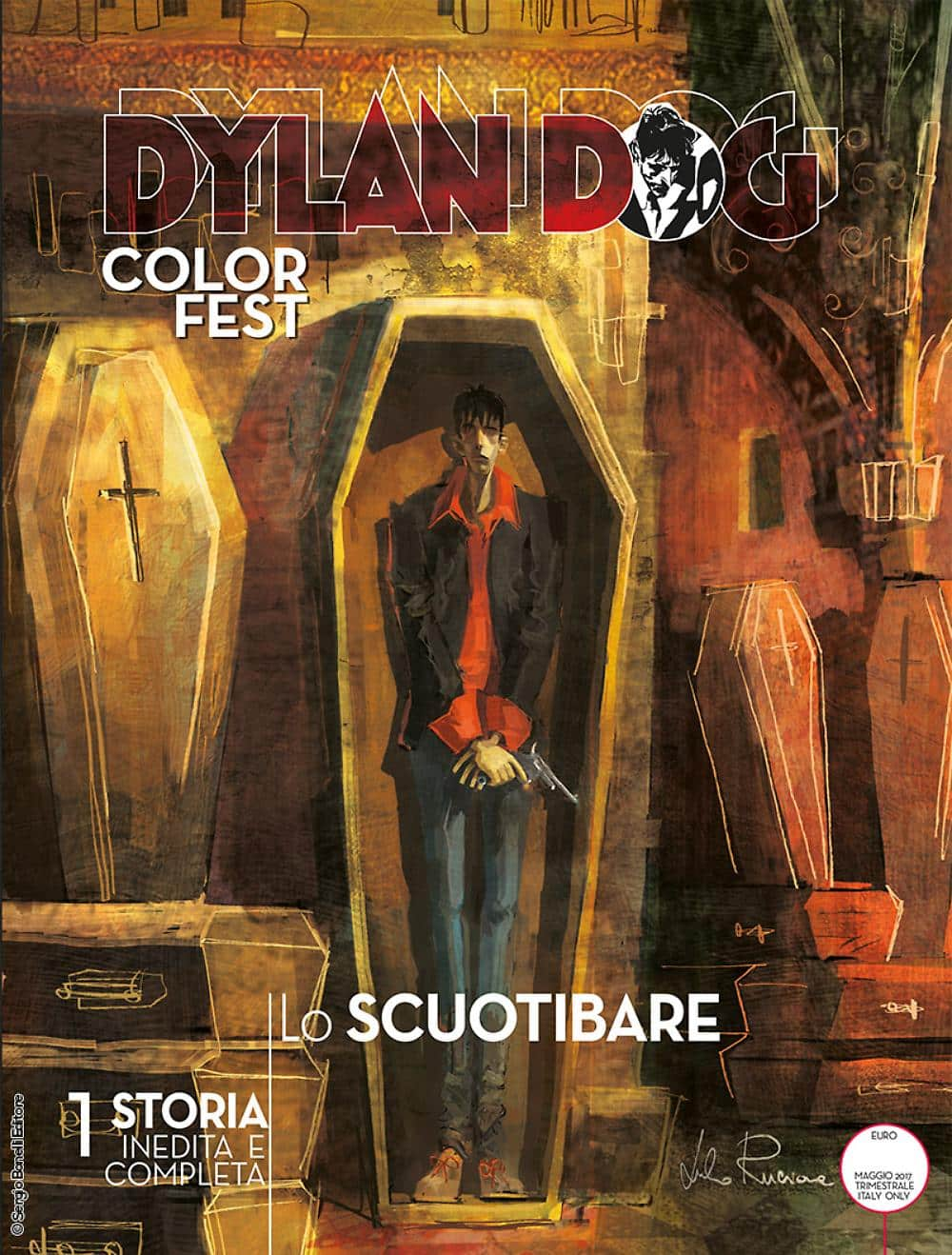 Dylan Dog Color Fest #21 - Lo Scuotibare: la potenza del surreale