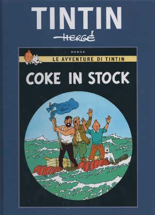 Tintin: il passato torna nelle trame di Coke in stock