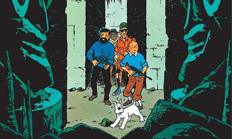 Tintin, fantarcheologia e nichilismo in Volo 714 per Sidney