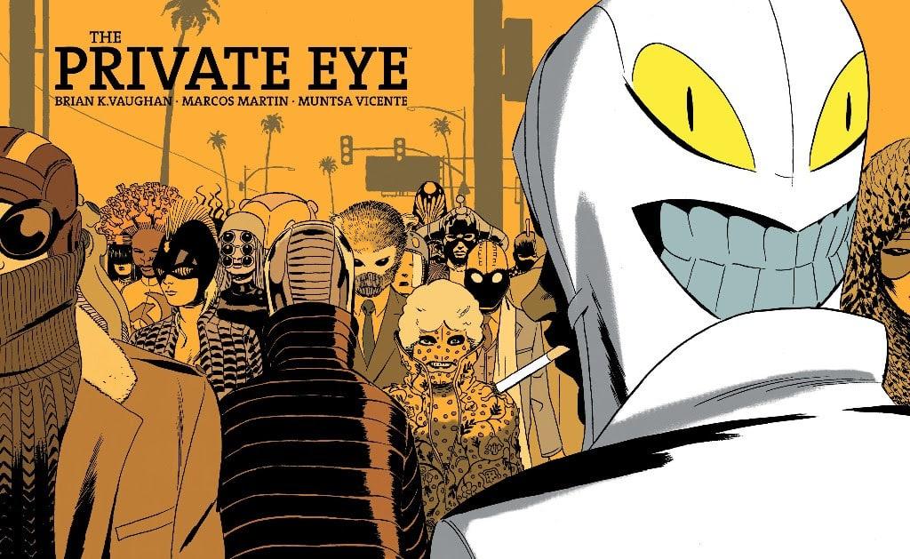 Anteprima: The Private Eye di Brian K. Vaughan e Marcos Martin