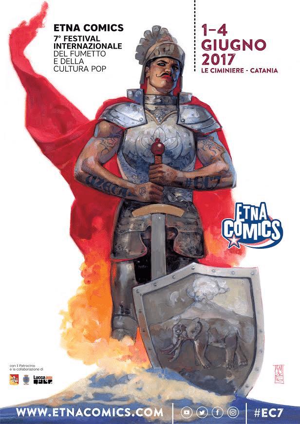 Il programma della settima edizione di Etna Comics