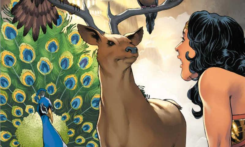 Wonder Woman Rinascita #7: il mondo degli uomini